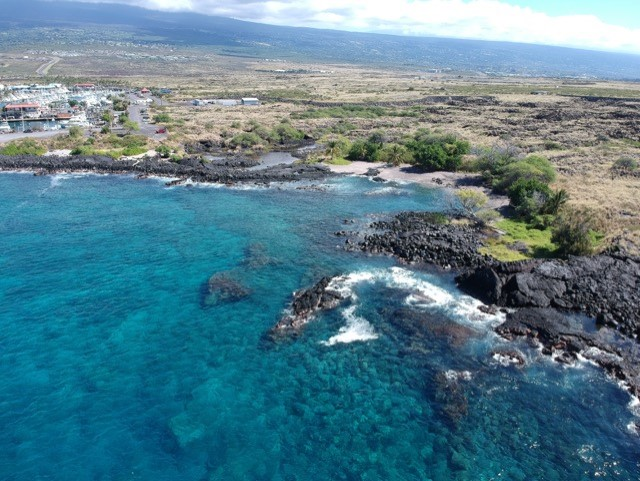 Alua Beach/Manta Ray Bay Dive Site, Big Island, Hawaii